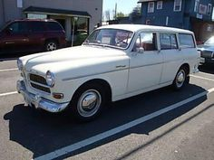 1965 Volvo 122 S Wagon Amazon Frigiking AC Survivor For Sale Front