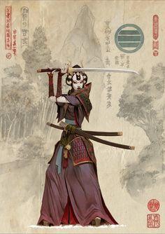 Bushi del Clan Koi.
