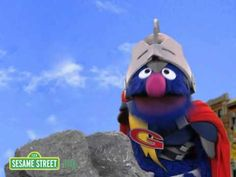 There are a few more of these...investigation, etc Sesame Street: Super Grover 2.0 - Questioning - YouTube