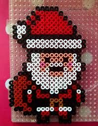 Hama beads Santa Claus