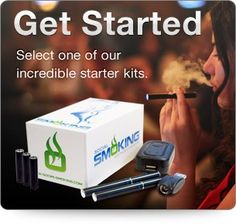 Start social smoking today with your e-cigarette starter kit