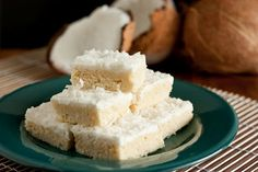 Coconut Sugar Cookie Squares - Cooking Classy ~T~ Could dye the Coconut any color to go with holidays , party themes or team colors.