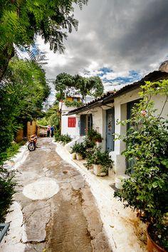♥ Kara´s Greek World ♥ Santorini, Mykonos, Travel Around The World, Around The Worlds, Southern Europe, Athens Greece, City Break, Cottage Homes, Ancient Greece
