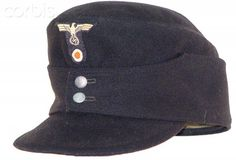WW2 , Nazi Germany, Panzer m43 enlisted man's cap
