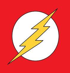 this is my third art on Deviantart. I made it in paint on Windows Flash logo - Simple drawning Superhero Wall Art, Superhero Party, Flash Lightning Bolt, Comic Con Costumes, Flash Wallpaper, Art Clipart, Paint Shop, Armani Logo, Deviantart