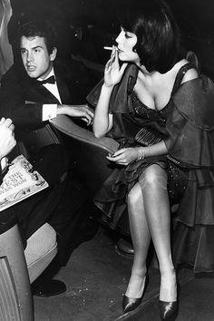 Warren Beatty & Natalie Wood, 1963.