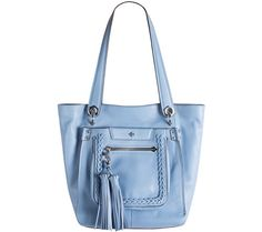 When you need to carry more, this orYANY leather tote will do so in style. QVC.com