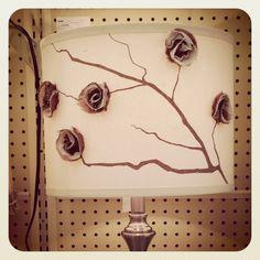 Bedroom lampshades DIY