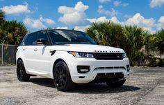 Colton's range rover. Driven by K. Bromberg