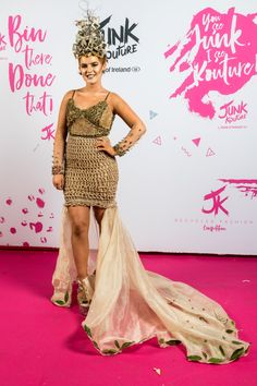 After yet another awe-inspiring display of regional glitz, glamour and re-purposed 'rubbish', Bank Of Ireland Junk Kouture provincial winners will gather together for one last time at the competition's Grand . Recycled Fashion, Donegal, Fashion 2020, Teen, Glamour, Formal Dresses, Inspiration, Design, Dresses For Formal