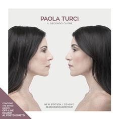 """PAOLA TURCI : Esce oggi, venerdì 27 ottobre, """"Il Secondo Cuore New Edition"""", il nuovo album di Paola Turci che contiene, oltre ai brani de """"Il Secondo Cuore"""", l'album pubblicato a marzo che ha conquistato pubblico e critica e 3 nuovi inediti (il nuovo singolo,"""