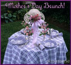 Mothers Day Brunch  Ideas.