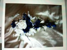 Ivory and blue!!!