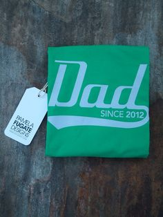 #etsy Dad Since 2012 - Personalized With Any Year - Cotton Mens Standard T-Shirt - FREE SHIPPING future-montoya-s