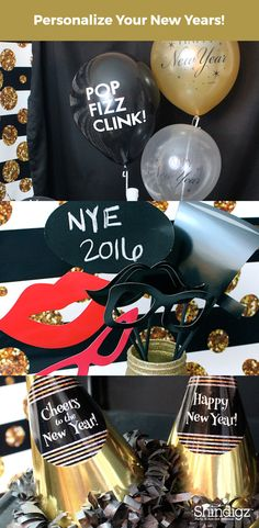 Looking for party inspiration this holiday season? Check out the New Year's Party that Laura's Little Party styled using Shindigz products!
