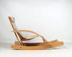 Werther Toffoloni, Rocking Chair, 1970. @designerwallace
