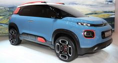 Citroen's C-Aircross Concept Is Basically The New C3 Picasso In Disguise #Citroen #Citroen_C3_Picasso