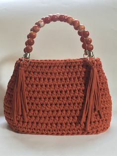 Crochet bag! #crochet #crocheting #bag #autumn