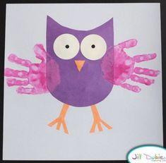Kids Crafts, Owl Crafts, Daycare Crafts, Fall Crafts For Kids, Animal Crafts, Cute Crafts, Toddler Crafts, Art For Kids, Autumn Crafts