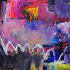 Wonderland 1 Acrylic on canvas Anna Hryniewicz art Abstract Expressionism, Abstract Art, Paintings I Love, Art Paintings, Painting Art, Collage, Happy Art, Contemporary Artwork, Minimalist Art