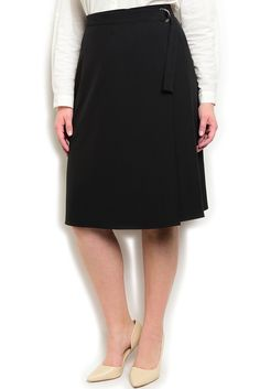 DHStyles Women's Black Plus Size Classy High Waisted Wrap Front Belted Flare Skirt - 1X Plus #sexytops #clubclothes #sexydresses #fashionablesexydress #sexyshirts #sexyclothes #cocktaildresses #clubwear #cheapsexydresses #clubdresses #cheaptops #partytops #partydress #haltertops #cocktaildresses #partydresses #minidress #nightclubclothes #hotfashion #juniorsclothing #cocktaildress #glamclothing #sexytop #womensclothes #clubbingclothes #juniorsclothes #juniorclothes #trendyclothing…