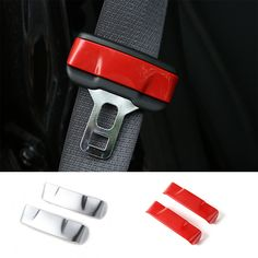 MOPAI Interior Seat Safety Belt Buckle Clip Insert Trim ABS Decoration Stickers For Jeep Cherokee 2014 Up Car Styling _ {categoryName} - AliExpress Mobile Version - Jeep Cherokee Accessories, Jeep Accessories, Interior Accessories, Jeep Cherokee 2014, 2015 Ford Mustang, Belt Buckles, Abs, Moulding, Safety