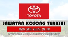 Jawatan Kosong di Toyota Capital - 26 Nov 2016   We are a financial services Company established jointly by Toyota Financial Services(TFS) of Japan a wholly owned subsidiary of Toyota Motor Corporation of Japan and UMW Corporation Sdn Bhd. TOYOTA CAPITAL MALAYSIA Sdn Bhd is a subsidiary of Toyota Financial Service Corporation which specializes in vehicle financing for Toyota Motor Corporation around the world.  Jawatan Kosong Terkini 2016diToyota Capital  Positions:  1.Collection Officer…