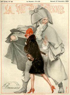 Chéri Hérouard (1881-1961). La Vie Parisienne, 27 Novembre 1926. [Pinned 6-ii-2015]