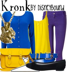 Emperor's new groove kronk outfit   Disneybound