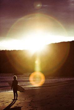 ocean sun and surfing on the beach #SunSandSea