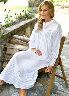 In Stitches, Victorian Nightgowns - Barbara Nightgown