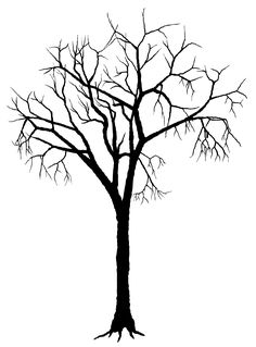Silhouette Of Trees - ClipArt Best