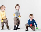 Jeans pants with cotton for children. Via MODI DU
