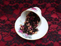 Items similar to Blueberry Black Tea on Etsy Loose Leaf Tea, Teas, Blueberry, Pudding, Homemade, Desserts, Black, Food, Tailgate Desserts