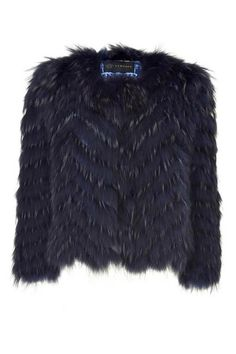 Versace fur jacket