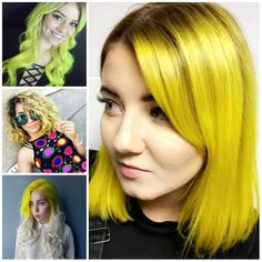 Yellow Hair Color Ideas for 2017