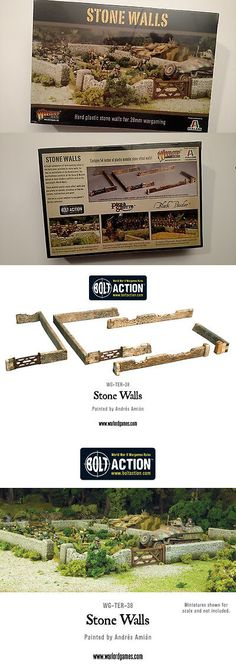 WINTER  STONE RIVER SECTIONS   BOLT ACTION FANTASY 28MM SCENERY MADE TO ORDER