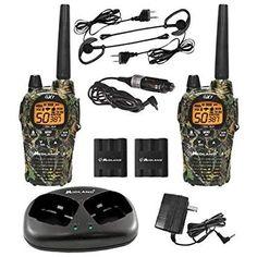 24 best walkie talkies images on pinterest walkie talkie radios midland gxt1050vp4 two 2 way radio walkie talkie 36 mile frsgmrs pair camo new fandeluxe Gallery