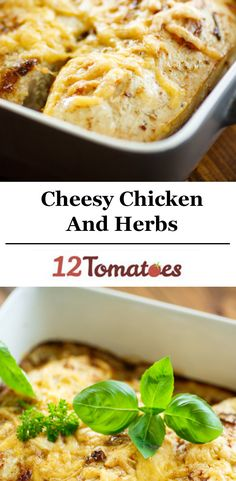 Crispy Cheddar Chicken And Herbs