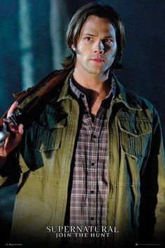 Supernatural Jared Padalecki is Sam Winchester Poster 61x91.5cm in Home & Garden, Home Décor, Posters & Prints | eBay