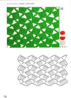 Fabulous Crochet a Little Black Crochet Dress Ideas. Georgeous Crochet a Little Black Crochet Dress Ideas. Crochet Stitches Chart, Crochet Diagram, Crochet Motif, Diy Crochet, Crochet Doilies, Blanket Crochet, Stitch Patterns, Knitting Patterns, Crochet Patterns