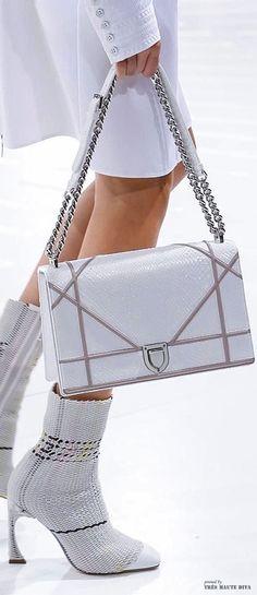 The Millionairess Closet - Paris FW Christian Dior Spring Summer 2015 detail Mk Handbags, Handbags Michael Kors, Michael Kors Bag, Purses And Handbags, Women's Shoes, Me Too Shoes, Shoe Boots, Shoe Bag, Ankle Boots