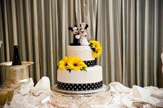 Mickey et Minnie Mouse gâteau de mariage