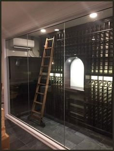 Going for unconventional choices can be quite satisfying. This elegant number in today's Tech Tuesday showcase is a relatively compact wine cellar project, but decked with all the bells and whistles!