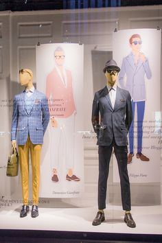 Our Fifth Avenue windows are decked out in #PittiUomo style for #FathersDay. Read more on #SaksPOV. #PittiPeoplexSaks