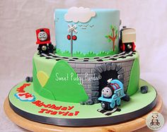 Thomas cake by Pudgy Panda