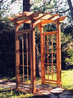Trellis on Pinterest Arbors Wisteria and Wisteria Arbor