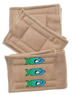 Bombs Away Dog Belly Bands - Peter Pads - 3 Pack - XS thru XL