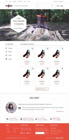 Webdesign - Design Socks