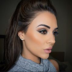 Perfect makeup! Love the color scheme. I really want to be able to scheme looks like this for a pretty boyfriend sometime soon....